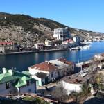 Квартиры посуточно в Севастополе без посредников www.sev-kvartirka.ru Вид на бухту